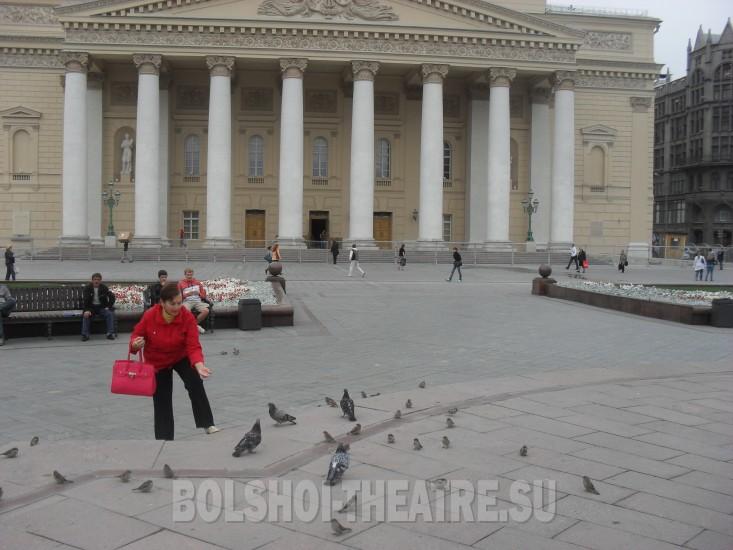 Театр и новая сцена большого театра