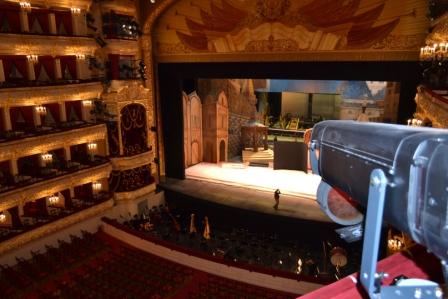 Интерьер большого театра.
