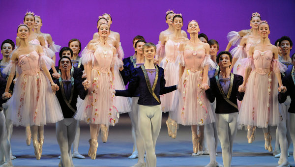 Конкурс хореографических училищ в большом театре